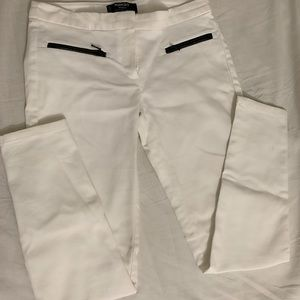 Mango Basic White skinny Jeans